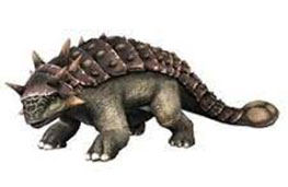 Dinosaurios con cuernos y crestas: Euoplocephalus