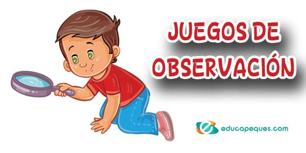 juegos de observación para niños
