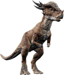 Dinosaurios con cuernos en la cabeza: Stygimoloch
