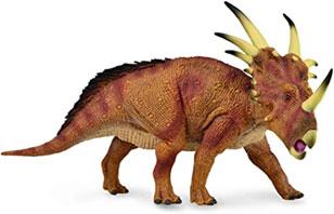 Dinosaurios con cuernos en la nariz y en los ojos: Styracosaurus