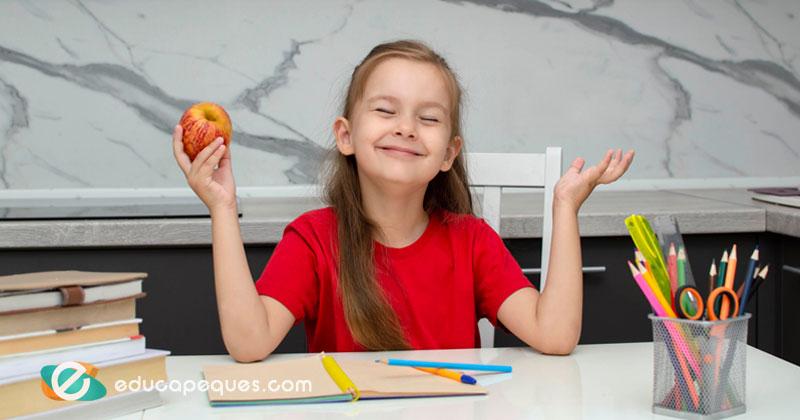 alimentos para aumentar la inteligencia en niños