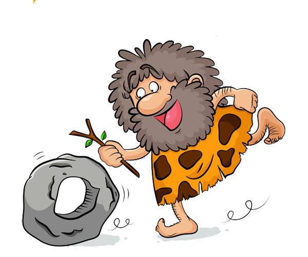 Descubrimiento de la rueda, la prehistoria para niños