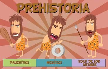 etapas de la prehistoria, la prehistoria para niños
