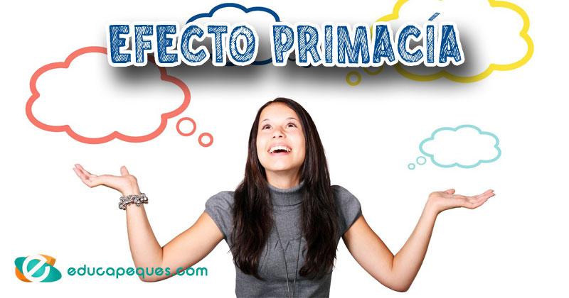 efecto primacía