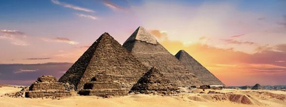 Las pirámides de las etapas de la historia de Egipto más famosas
