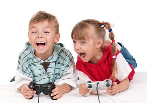 Uso de dispositivos y juegos educativos virtuales