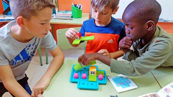 Modelo de enseñanza de las matemática manipulativas